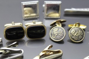 Lot of vintage cufflinks from our