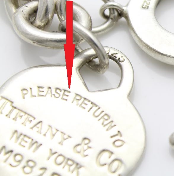 d9b0a66ed How to Spot Counterfeit Fake Tiffany & Co. Jewelry – How to tell if ...