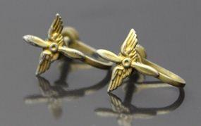 WWII Sweetheart Earrings