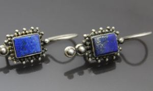 Sterling_Lapis_Earrings_Pyrite