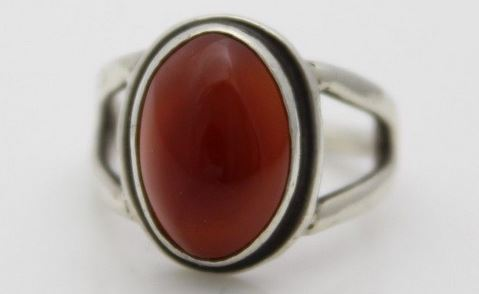Carnelian Ring Look At It