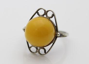 Egg Yolk Amber Ring Look At It