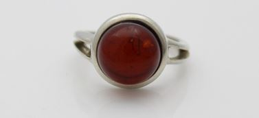 Red Amber Ring Look At It