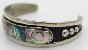 Alpaca (Nickle SIlver) Cuff Bracelet